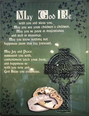 Irish Blessing Wall Plaque