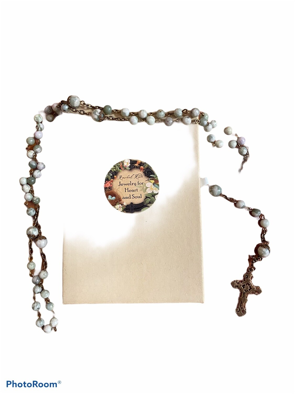 Peace Jade Rosary