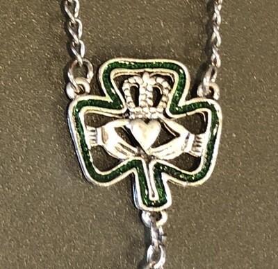 Irish Auto Claddagh Rosary