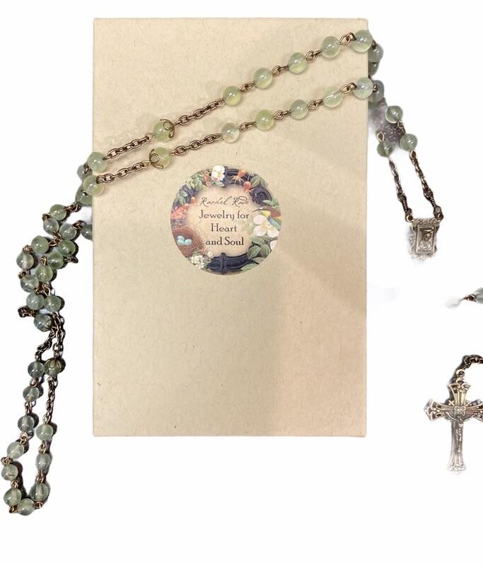 Prehnite Rosary