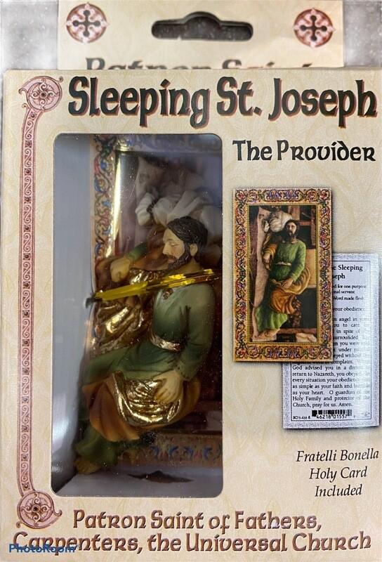 St. Joseph Boxed Statue
