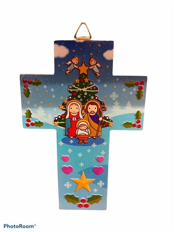 Holy Family Wall Cross