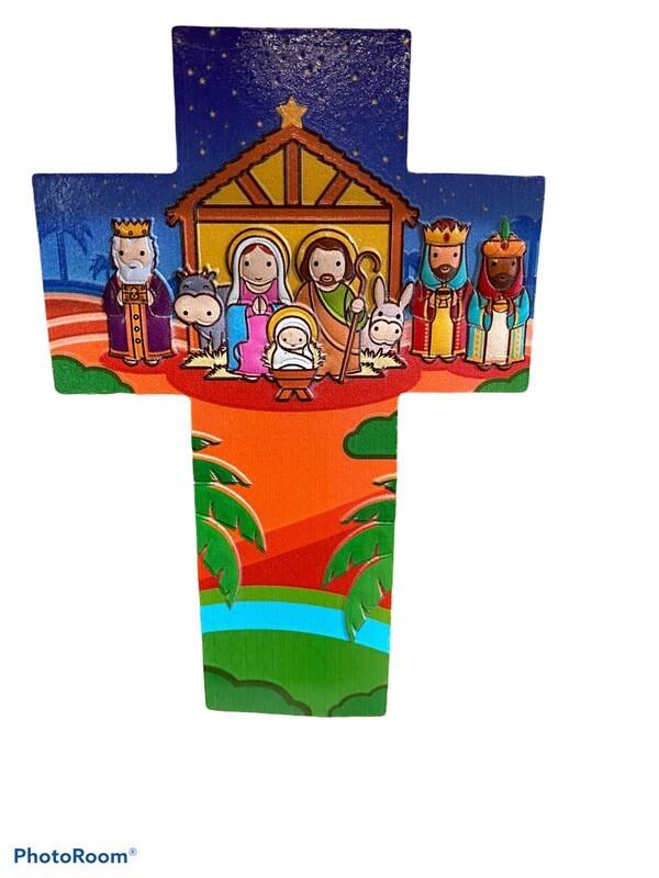 Nativity Wall Cross