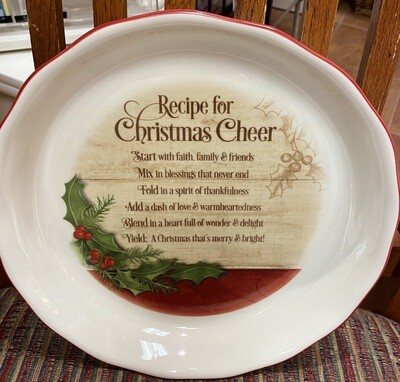 Recipe For Christmas Cheer Pie/Quiche Dish