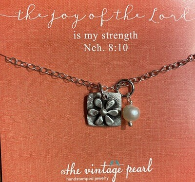 The Joy Of The Lord Is My Strength Necklace