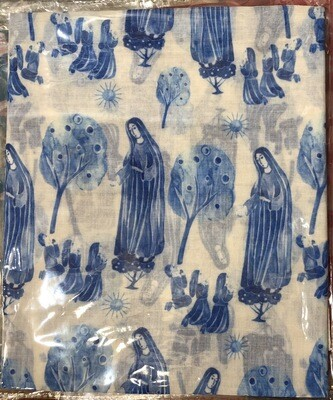 Our Lady Of Fatima Toile Scarg