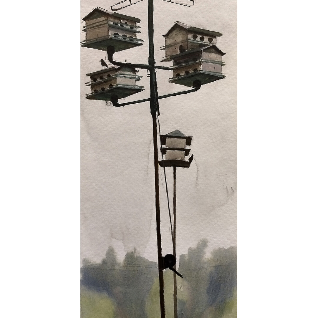 Bird Houses at Heritage Park