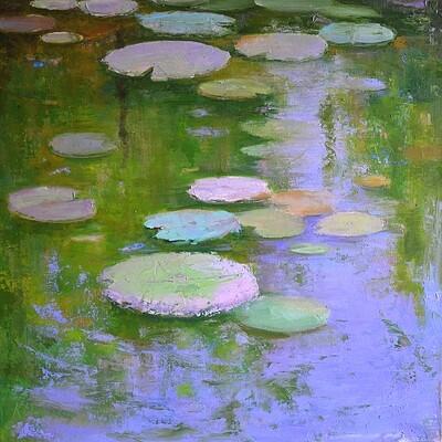 Lily Pond Impressions