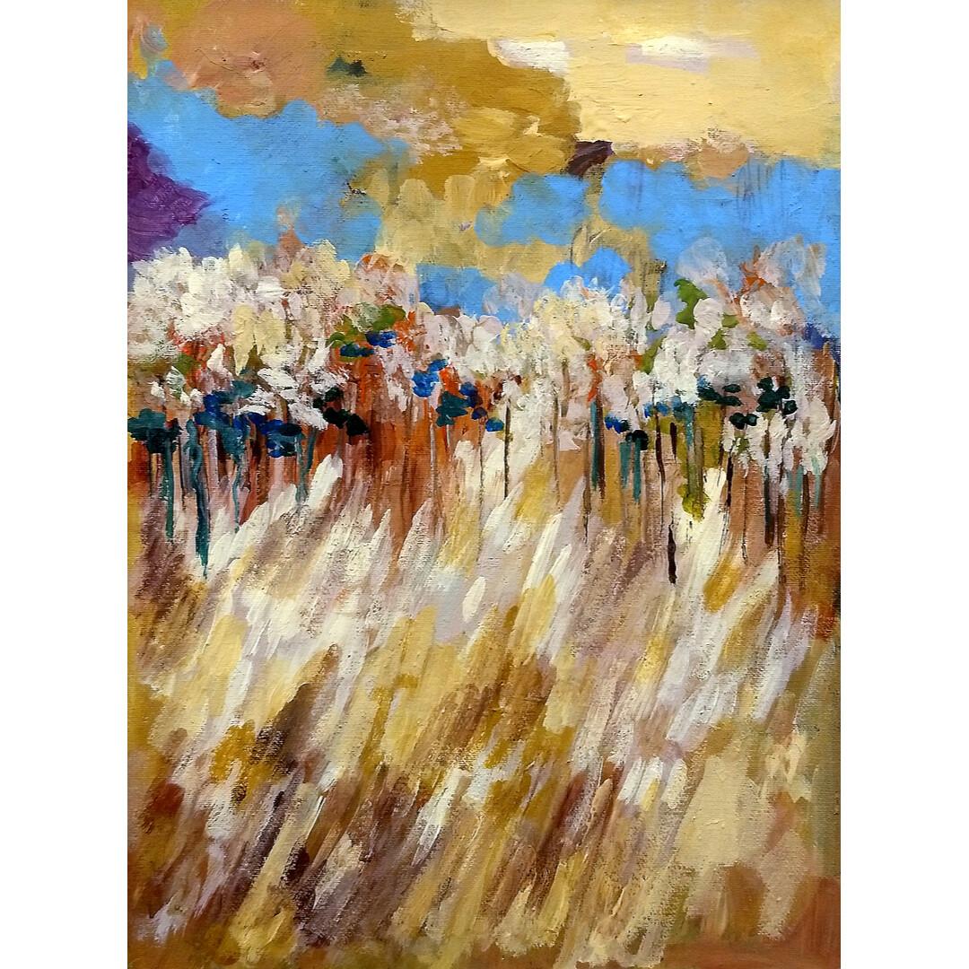 Prairie Harvest by Gloria Gale