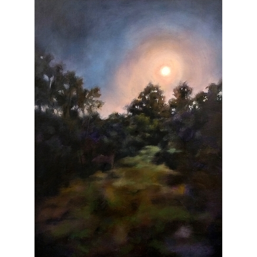 Strawberry Moon by Linda Kinder