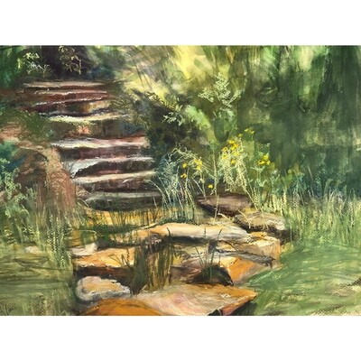 Stepping Stones by Cathy Kline