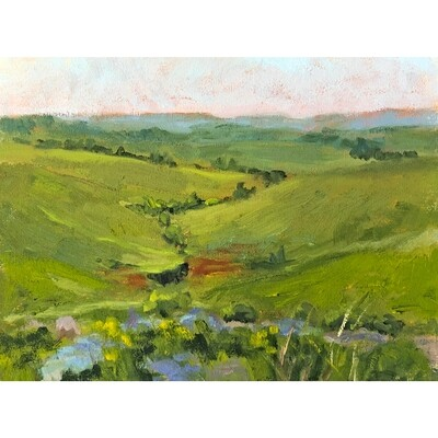 ​Flint Hills, Early Summer by Jacqueline Smith