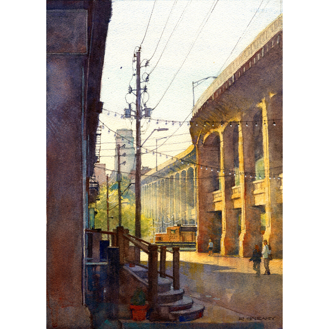 12th Street Viaduct by Richard Sneary