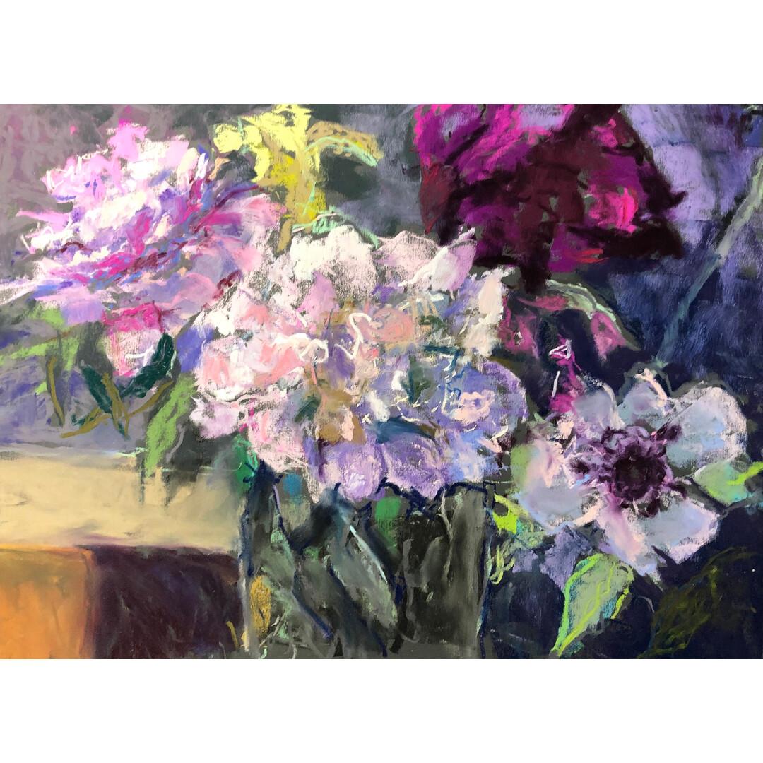 May Peonies by Marcia Streepy
