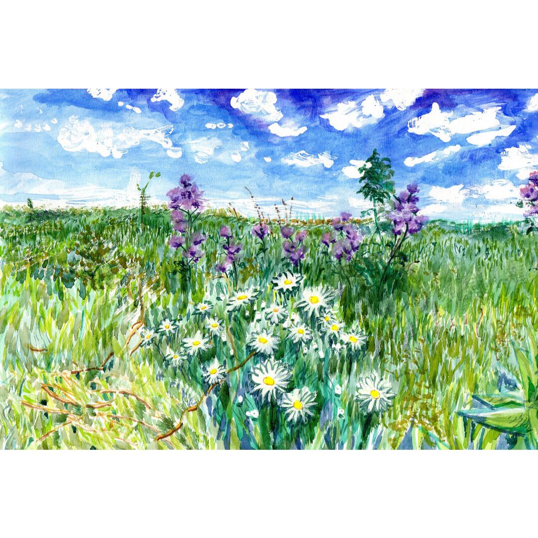 Prairie Summer by Laura Tiernan