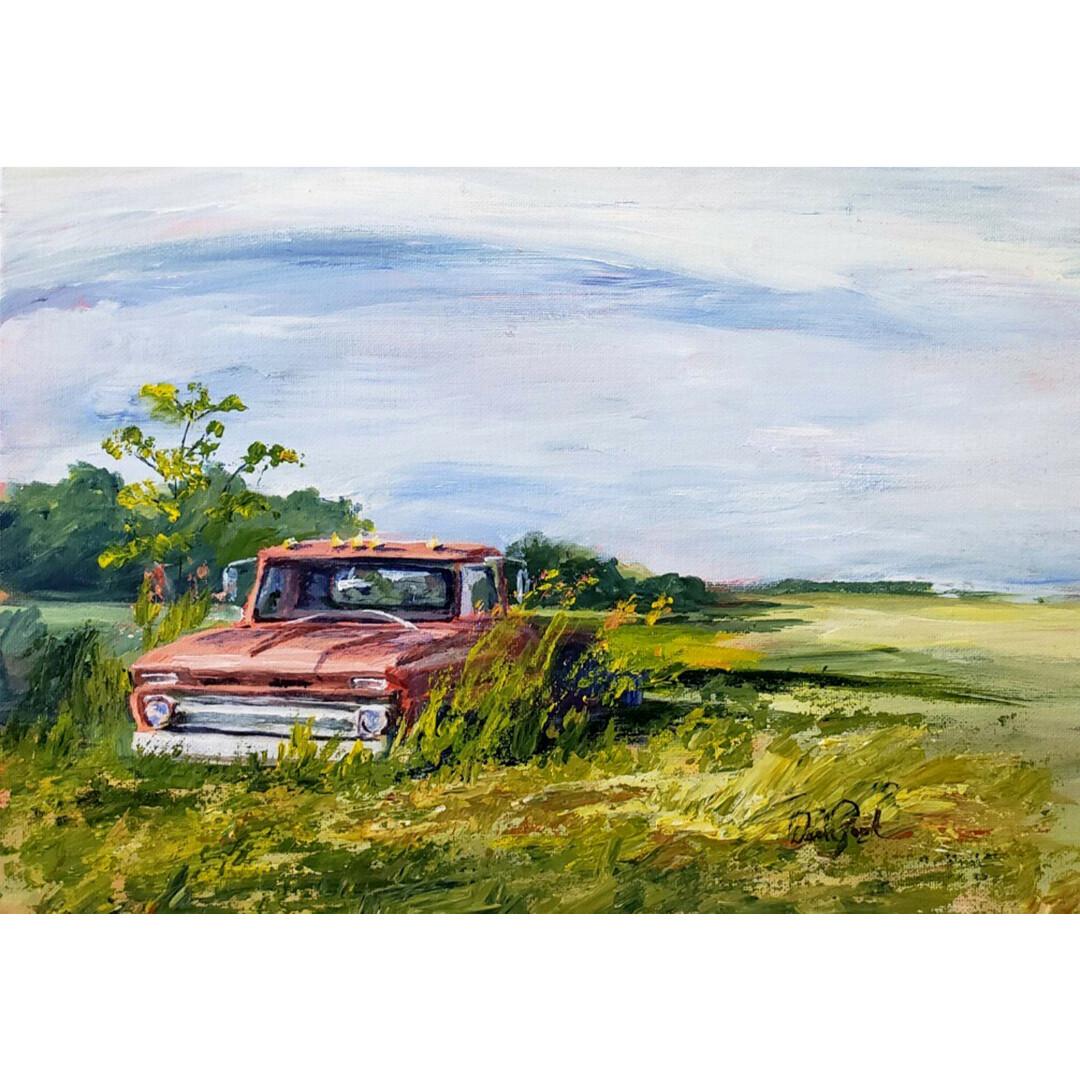 Retired Farmhand by Darla Zook