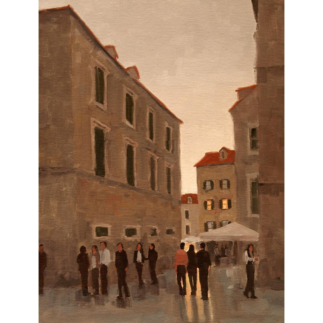 Evening in Dubrovnik