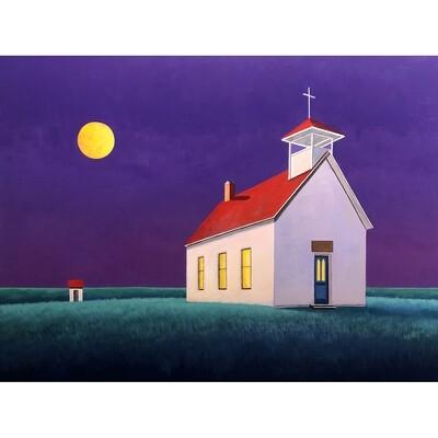 Moonlit Chapel