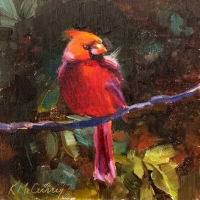 Cardinal in the Shadows