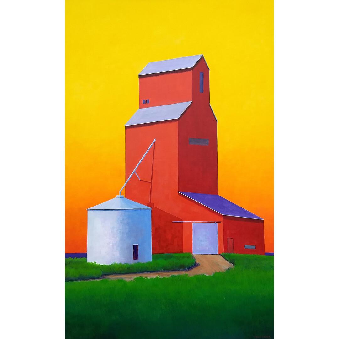 Red Grain Elevator