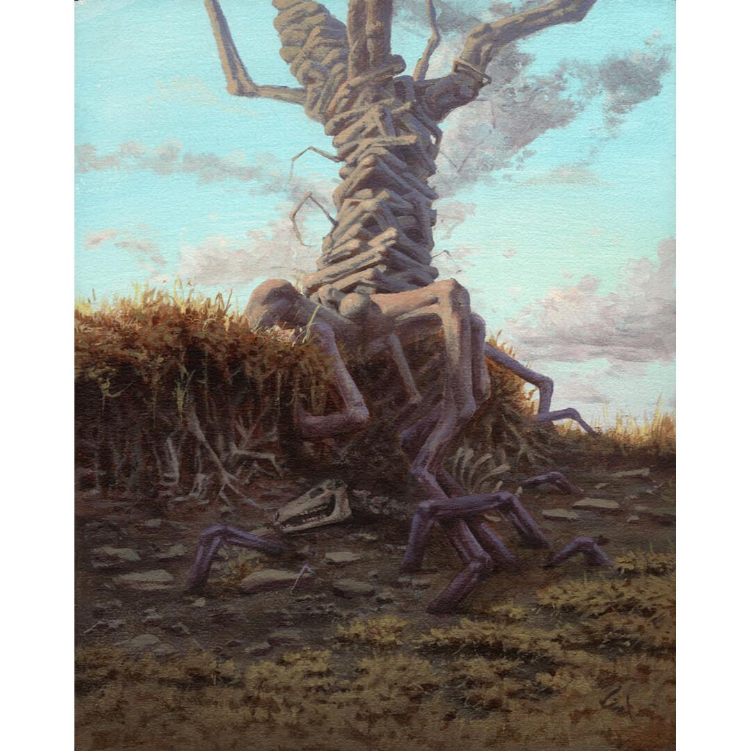Beneath the Tree Limbs by Grace Aldrich
