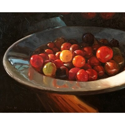 ​Cherry Tomatoes by Johne Richardson