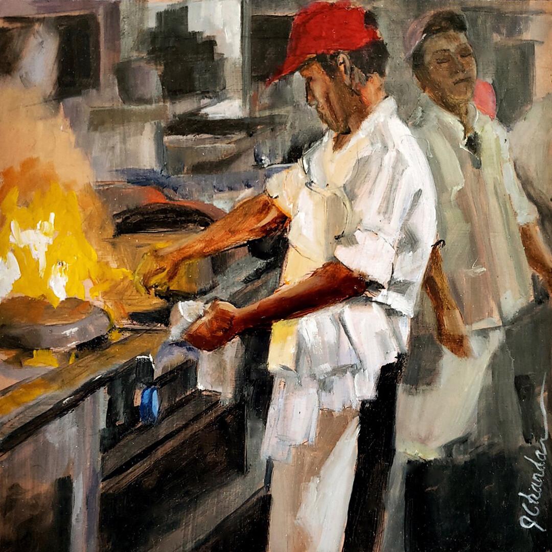 Kitchen Heat by Jacqueline Chanda