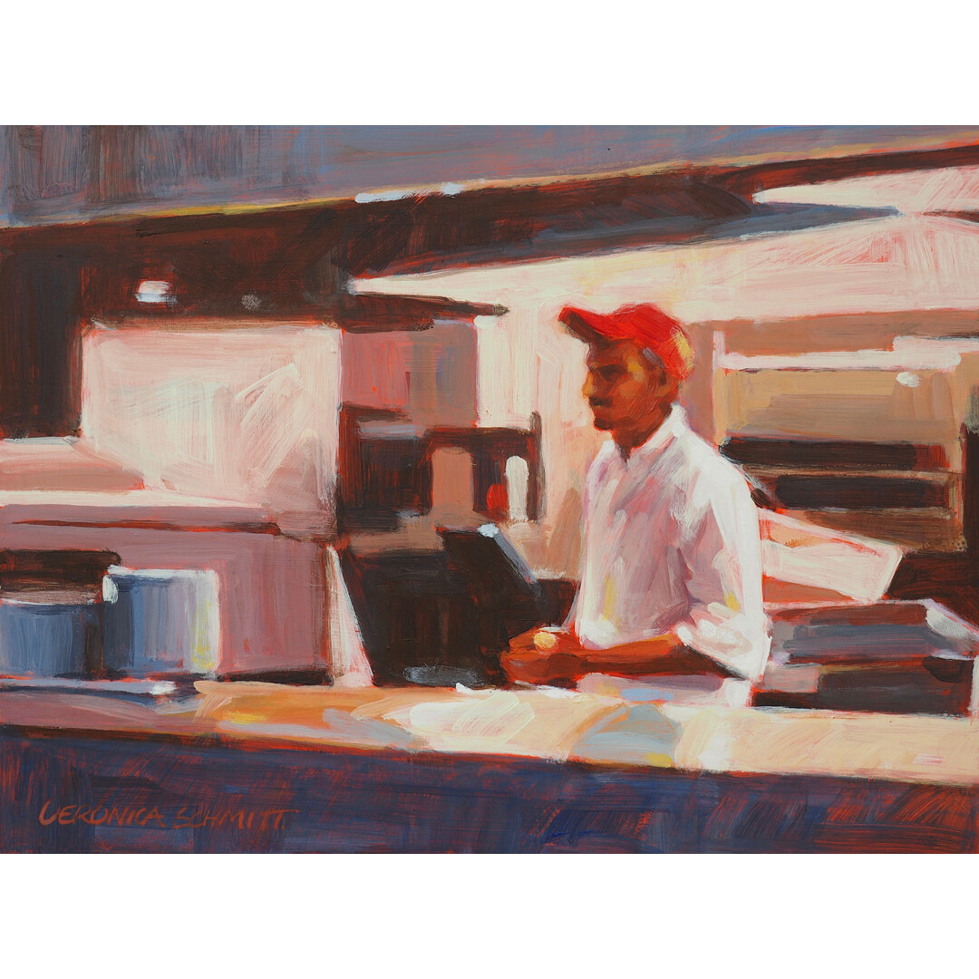 Kitchen Helper by Veronica Schmitt