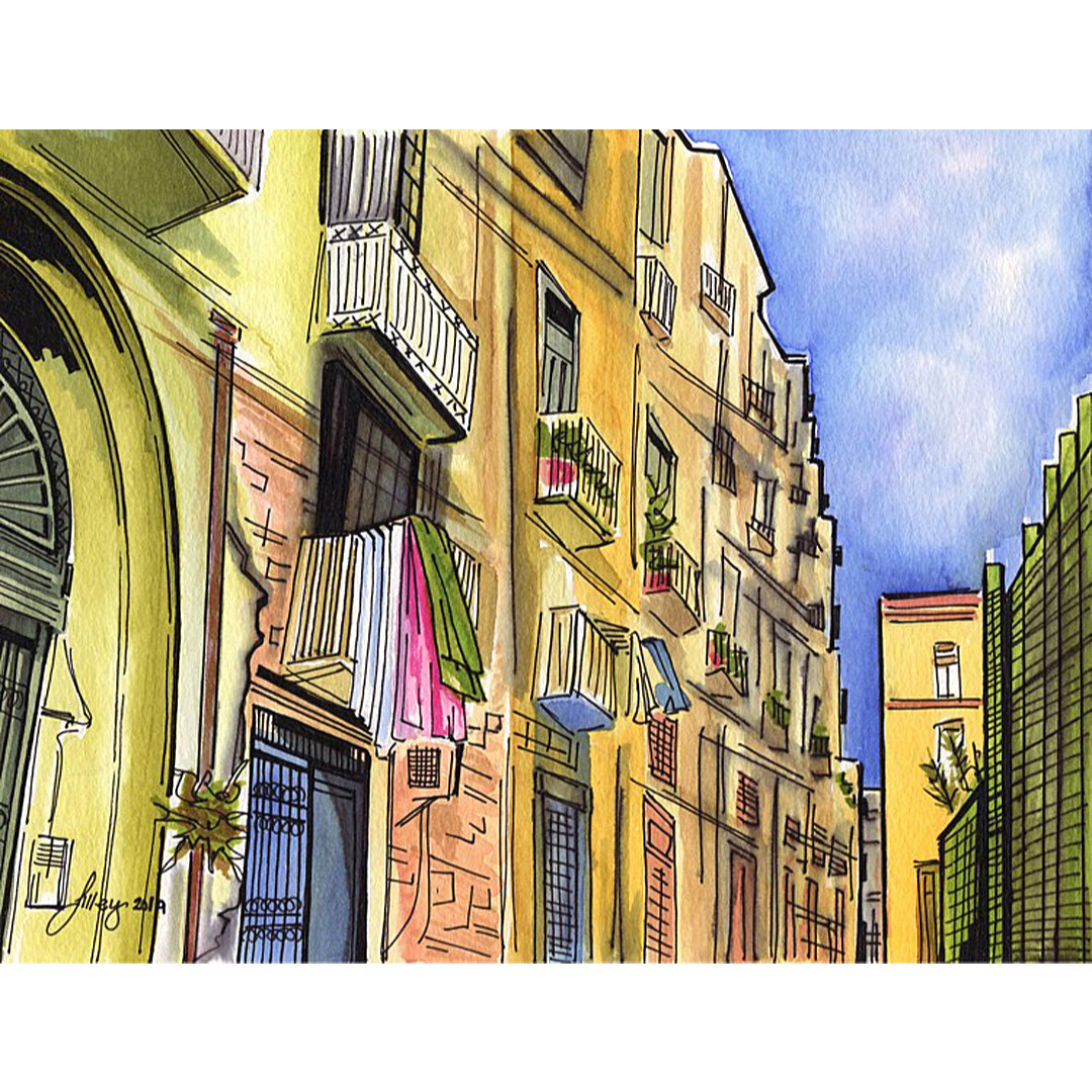 Naples by Amanda Lilley