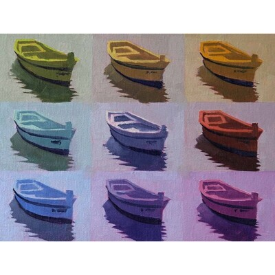 Once Around the Color Wheel in My Little Boat