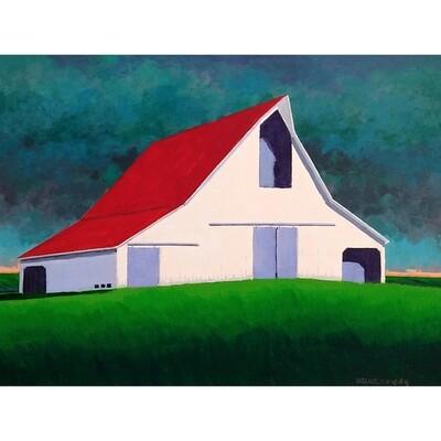 White Barn Hail Storm