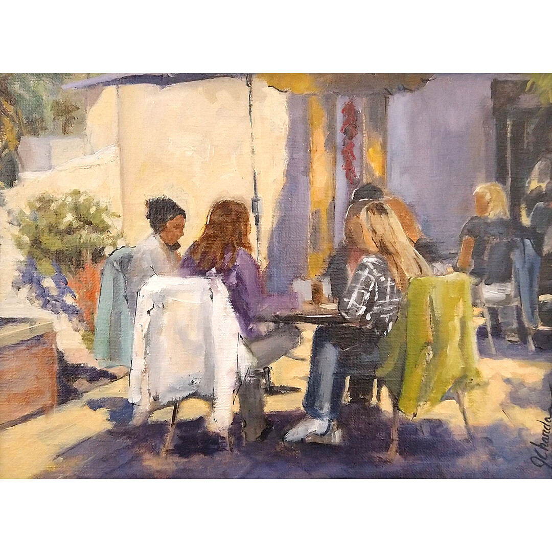 Lunch Time at La Cantina by Jacqueline Chanda
