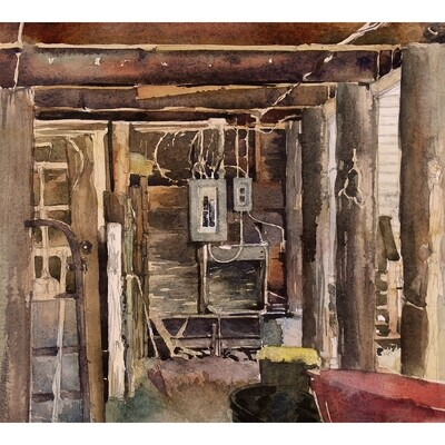 You Can Find The Electric Box In The Shed by Christi Patterson