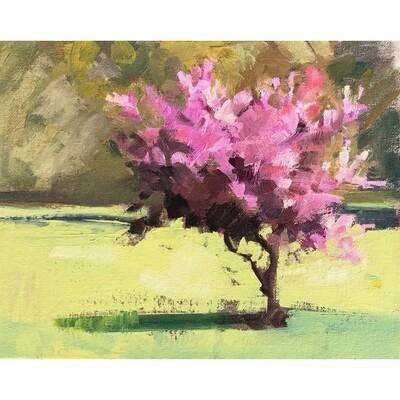 Spring Tree by Jane Flanders