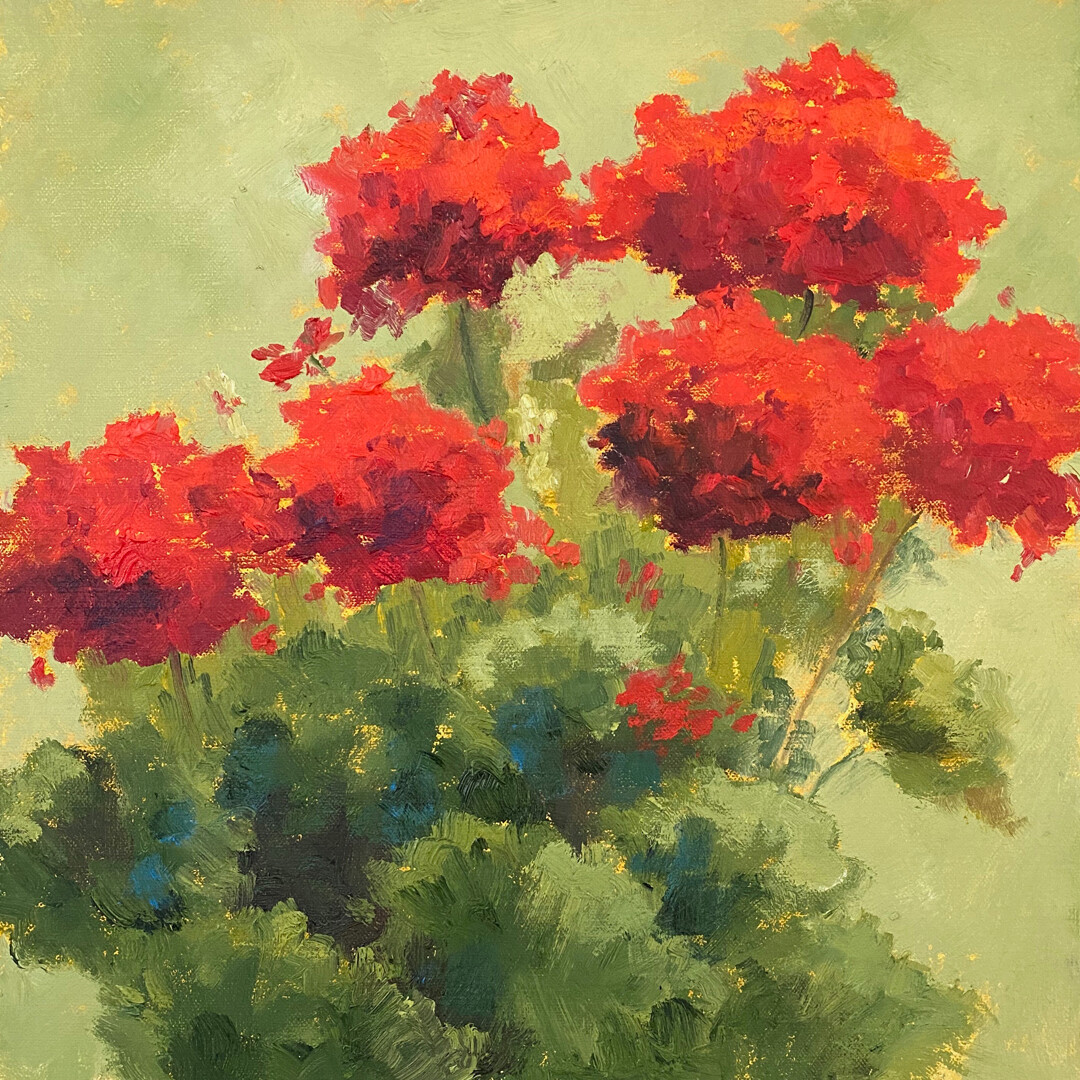Traditional Reds by Pam Holnback