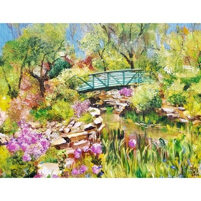 Early May Arboretum by Diane Stolz