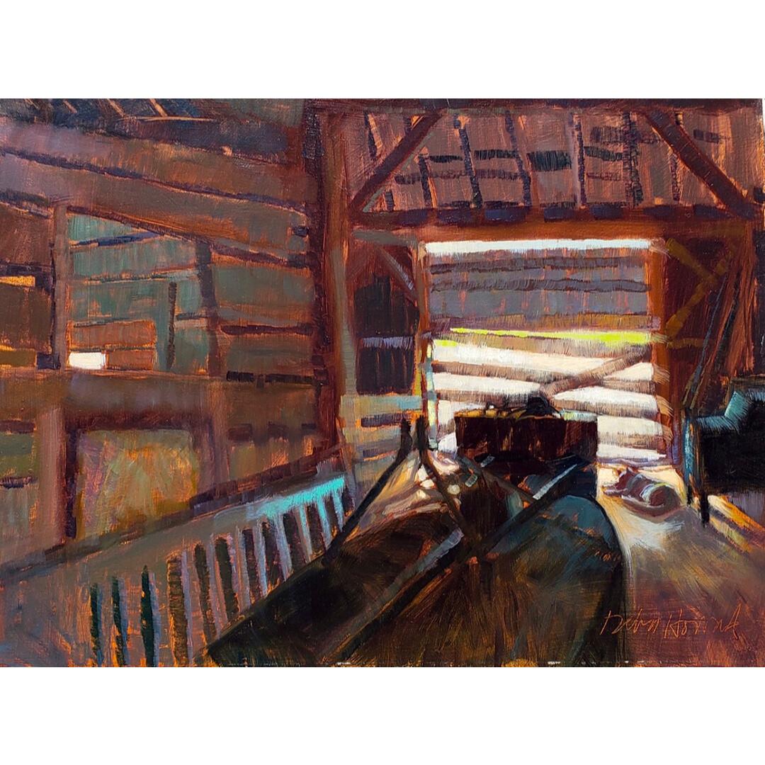 The Old Barn Cat by Debra Howard