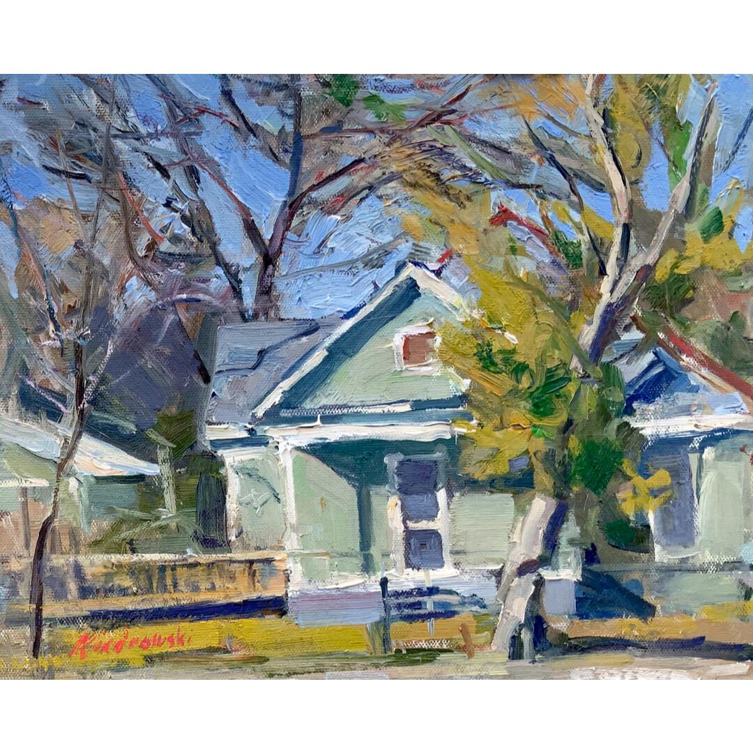 New Porch Paint and Everything by Kraig Kiedrowski