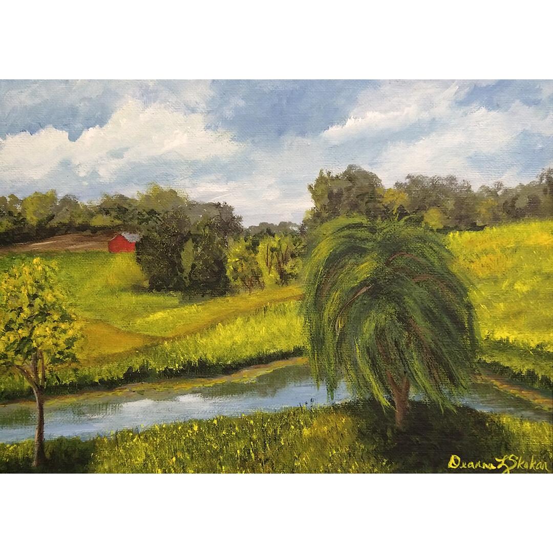 Windy Willow by Deanna Skokan