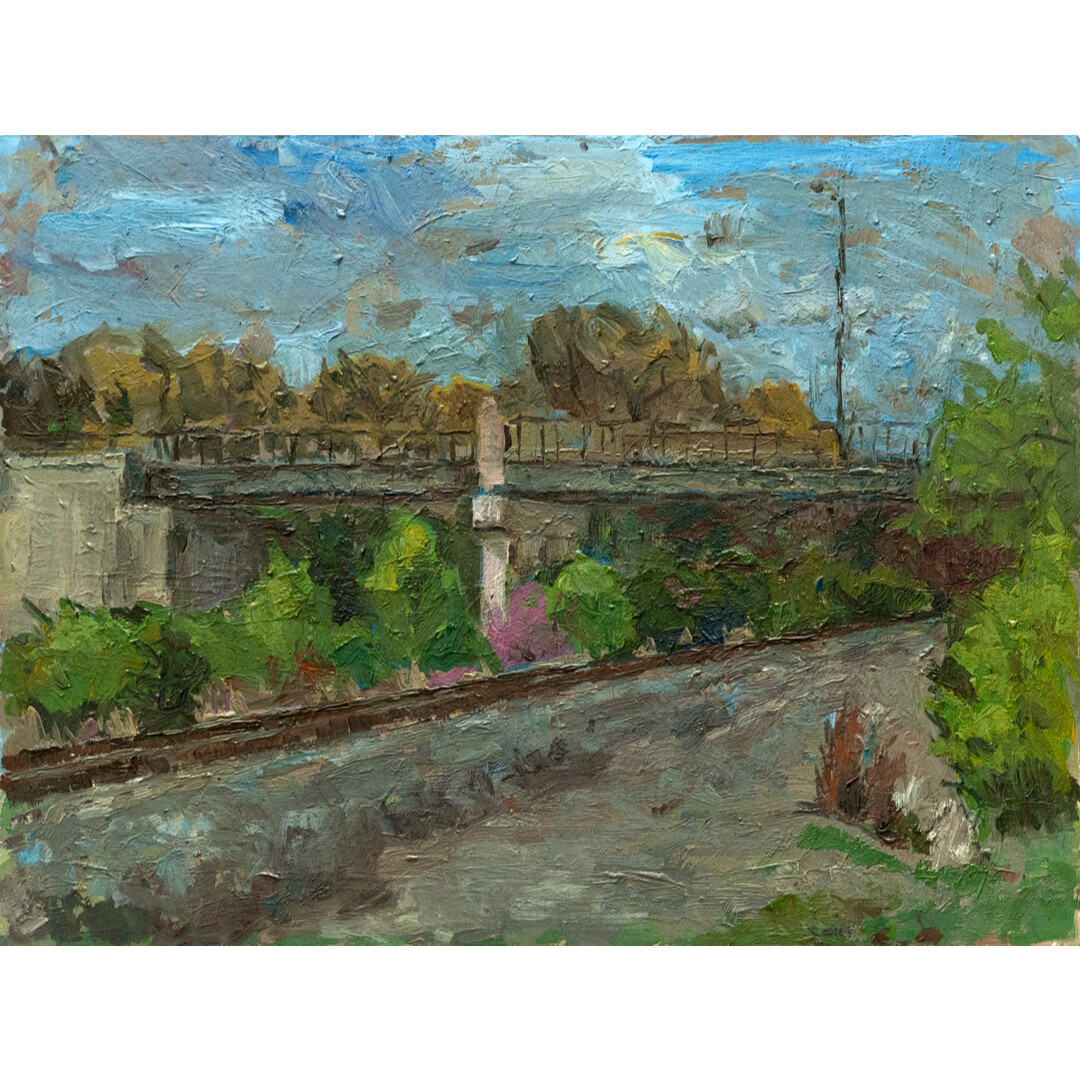 Railroad Spring by Sarah Berger