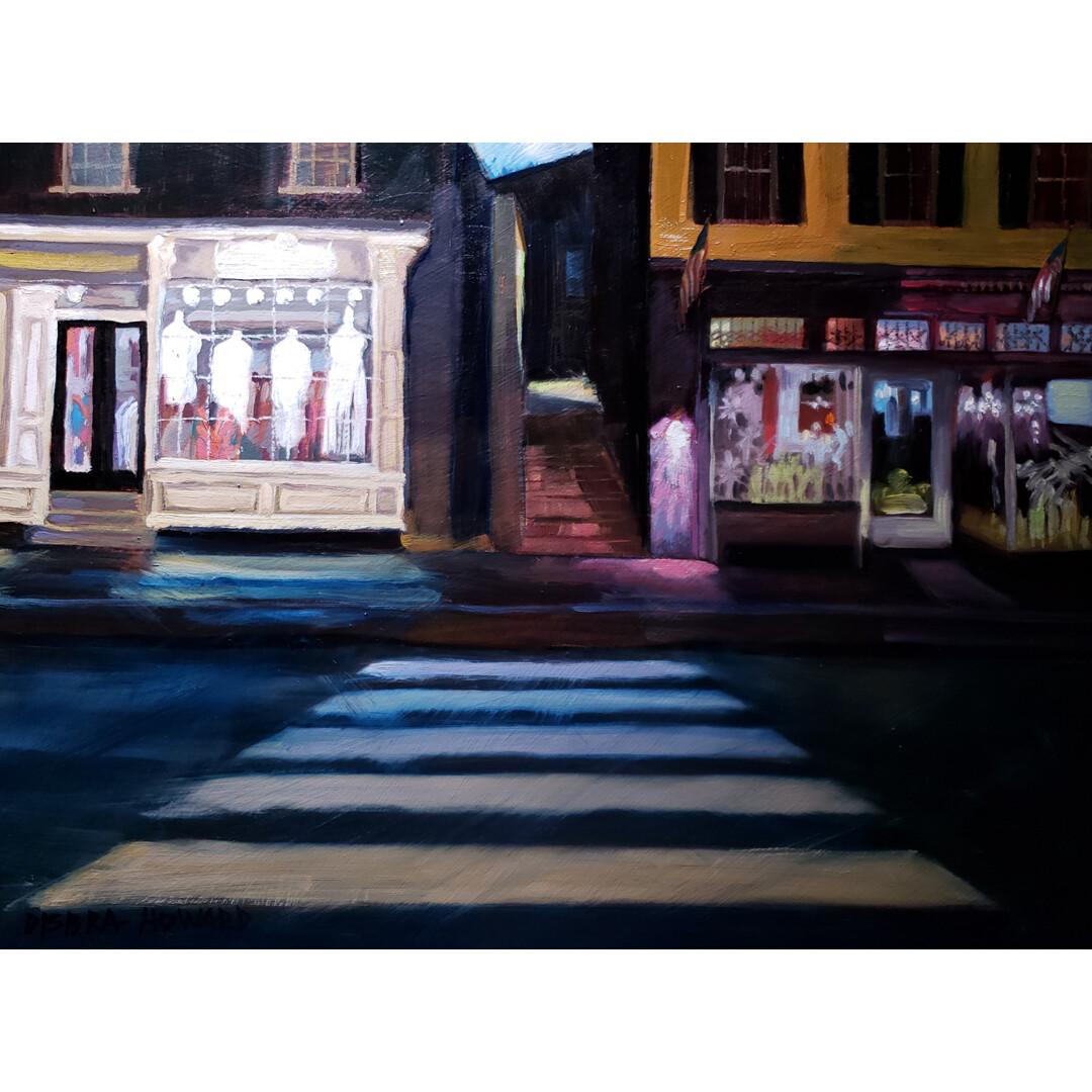 Midnight Crosswalk by Debra Howard