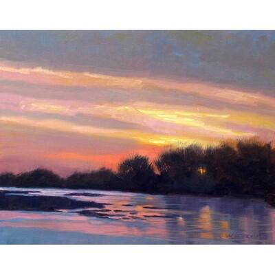 Platte River Sunrise