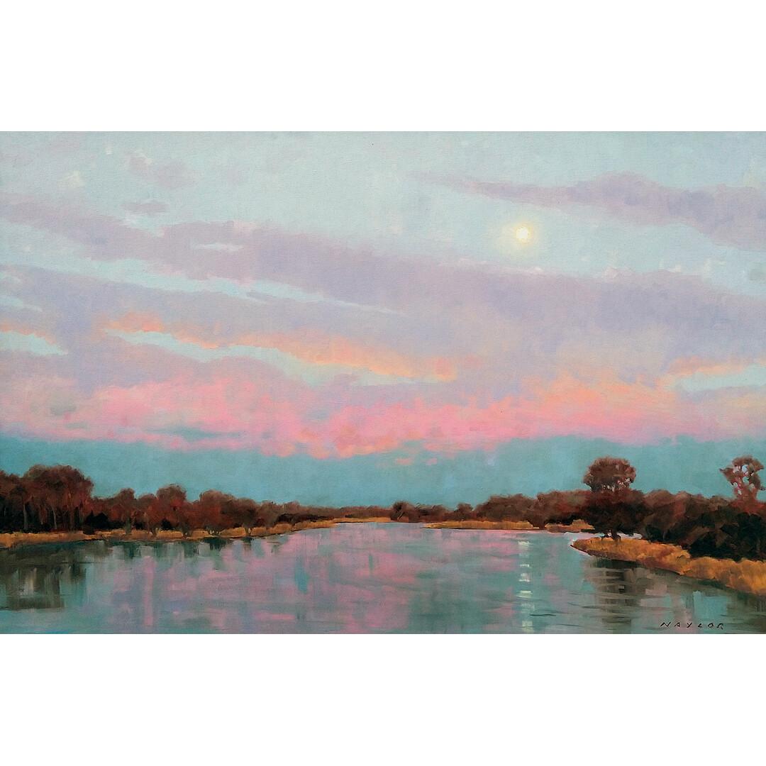 Platte River Moonrise