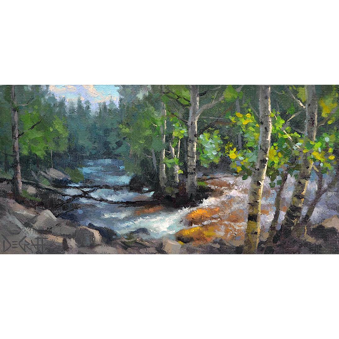 Glacier Creek Aspens