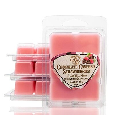 Chocolate Covered Strawberries Wax Melts - 4 Pack