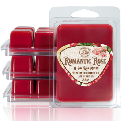Romantic Rose Wax Melts - 4 Pack
