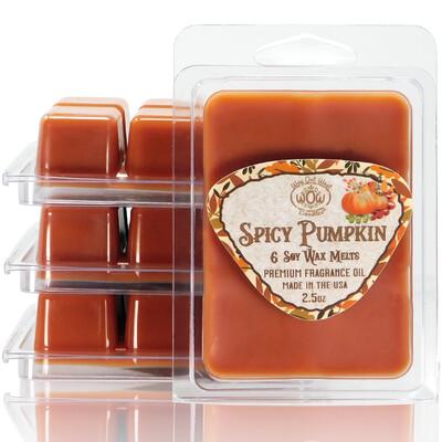 Spicy Pumpkin Wax Melts - 4 Pack