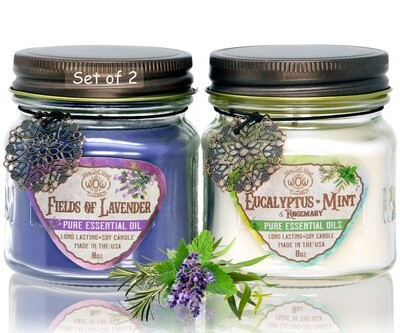 Stress Relief Candle Gift Pack