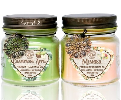 Spring Fragrances Candle Gift Pack