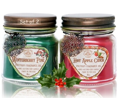 Winter Fragrances Candle Gift Pack